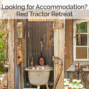 Red Tractor Retreat, Broke, Hunter Valley Country Accommodation